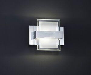 224670106 led wandleuchte lampe mit schalter inkl 1 x 5 watt led 15 cm ebay. Black Bedroom Furniture Sets. Home Design Ideas