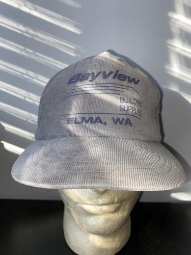 Vintage Bayview Elma Washington Corduroy Snapback