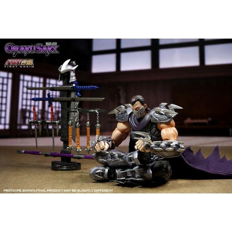 ahorra hasta un 80% Teenage Mutant Mutant Mutant Ninja Turtles NT-02 oraku Saki trituradora (vendedor de EE. UU.)  respuestas rápidas