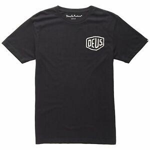 Deus-Ex-Machina-T-Shirt-Homme-Top-Tee-Noir-S-XL-OFFICIEL