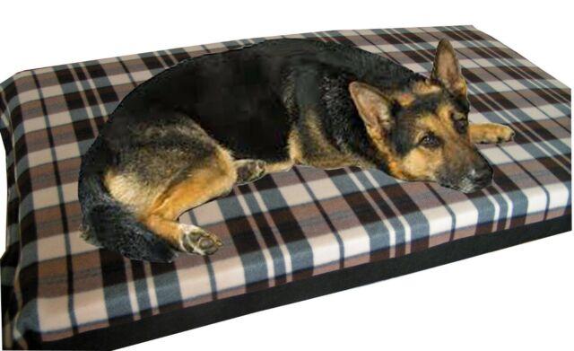 Bed 140 Breed.Kosipet Large Pocket Sprung Foam Waterproof Dog Mattress 2 Sizes 15 Colours