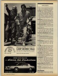 Casa De Cadillac >> Details About Camp Beverly Hills Casa De Cadillac 1979 Print Ad