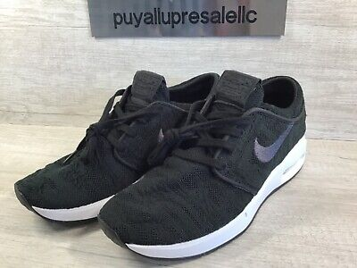 Nike SB Air Max Stefan Janoski 2 Casual Shoes Black White AQ7477 001 Men's NEW