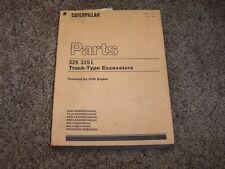 Caterpillar Cat 325 L Excavator 3116 Engine 8JG1- 7CJ1- Parts Catalog Manual