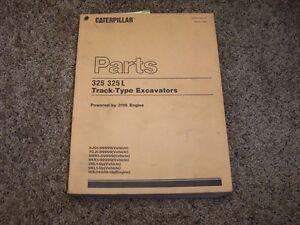 caterpillar cat 325 l excavator 3116 engine 8jg1 7cj1 parts rh ebay com 325 Caterpillar Log Loader Caterpillar 325 Specifications