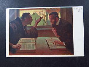 Postcard-Postkarte-Judaica-Artist-Postcard-W-Wachtel-Pinx-Original-Vintage-Jew