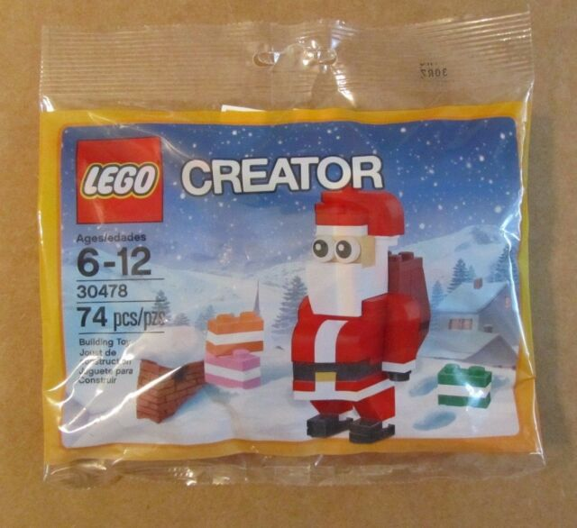 LEGO 30478 SANTA CLAUS  BRAND NEW SEALED POLYBAG CREATOR 2017