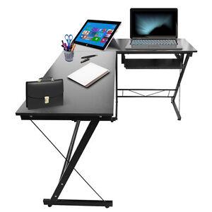 L forma computer tavolo a casa studio mobili per ufficio - Tavolo per computer ...