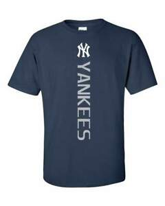 New-York-NY-Yankees-MLB-Vertical-T-Shirt-S-5XL-FREE-SHIPPING