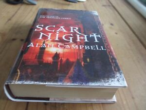 SCAR-NIGHT-ALAN-CAMPBELL-1st-1st-HB-SCI-FI-FANTASY-FIRST-EDITION-BOOK