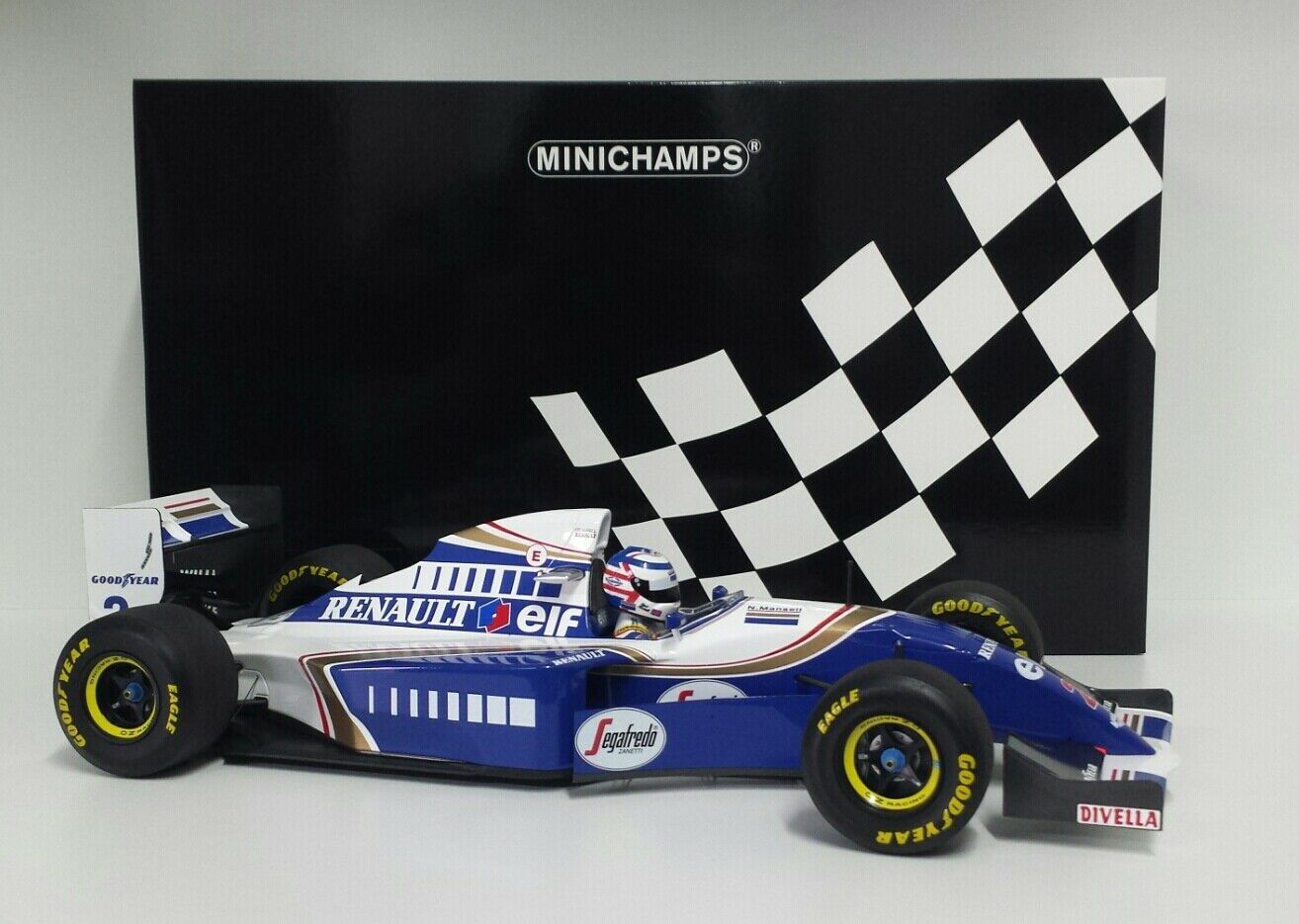 Minichamps 1 12 Modelo Auto F1 Diecast Williams Renault Fw16 Mansell 1994 New