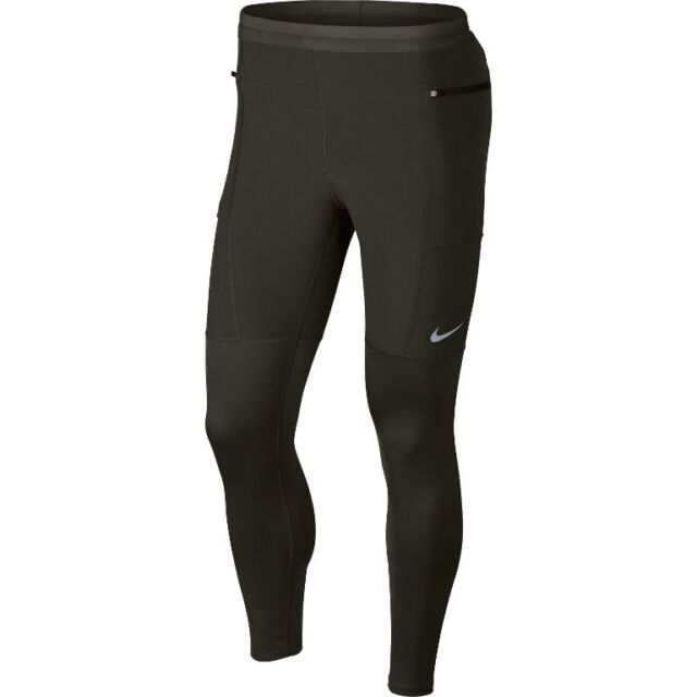 7a569021c9d1 Nike Utility Men s Running Pants Size Large Khaki Green Style 943642 ...