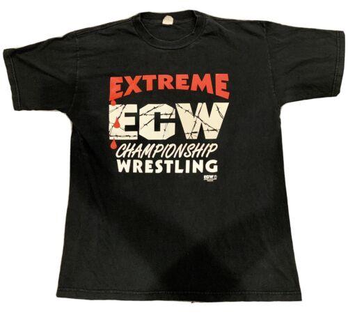 Vintage XL ECW Wrestling Shirt Extreme Championshi