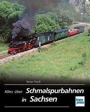 Schmalspurbahnen in Sachsen von Reiner Preuss (2012, Gebunden)