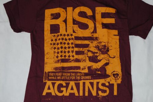 RISE AGAINST NUMB T SHIRT NEW OFFICIAL SIREN SONG APPEAL TO REASON ENDGAME