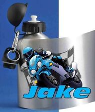 Personalizzata Ragazzo bere / Acqua Bottiglia / MOTOR BIKE