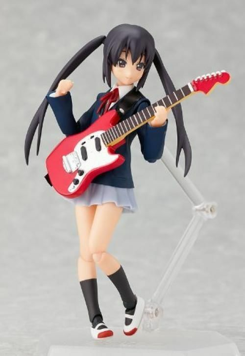 Figma 061 K-ON  Azusa Nakano Figure Max Factory from from from Japan ae2367
