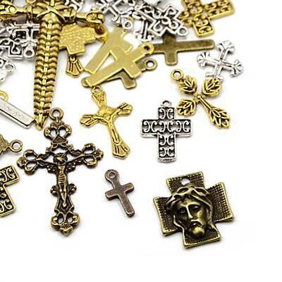 Mixed Shape Charm//Pendant Tibetan Antique Silver 5-40mm  30 Grams DIY Jewellery