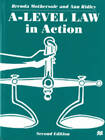 A-Level Law in Action by Brenda Mothersole, Ann Ridley (Paperback, 1999)
