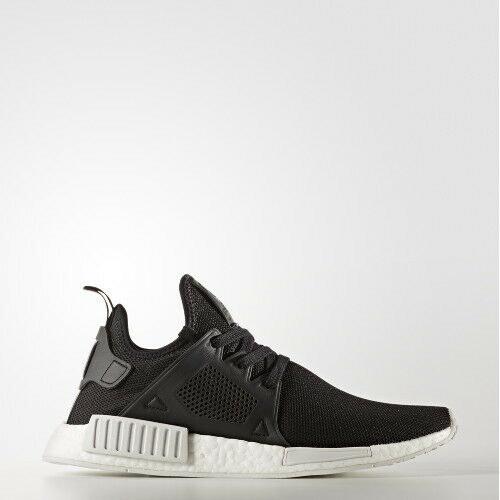 NMD xR1 PK Primeknit BY9921 Black White, Unisex shoes Athletic Sneakers