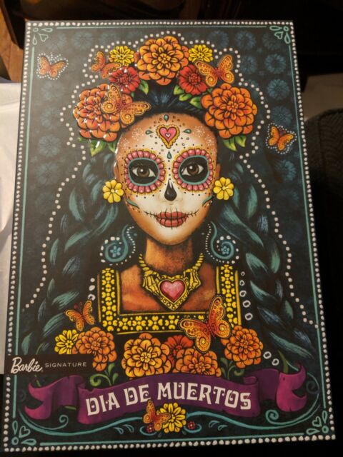 Barbie Dia De Los  Muertos Doll 2019 Day of The Dead new in box still wrapped