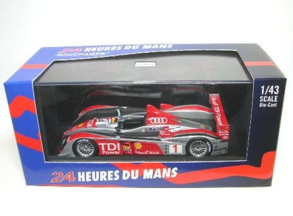 Audi R10 No. 1 Lemans 2008
