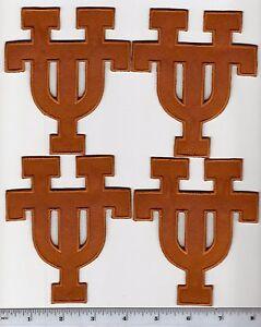 "NCAA Texas Longhorns Sew on//Iron on Badge Patch 5/"" X 5/"""