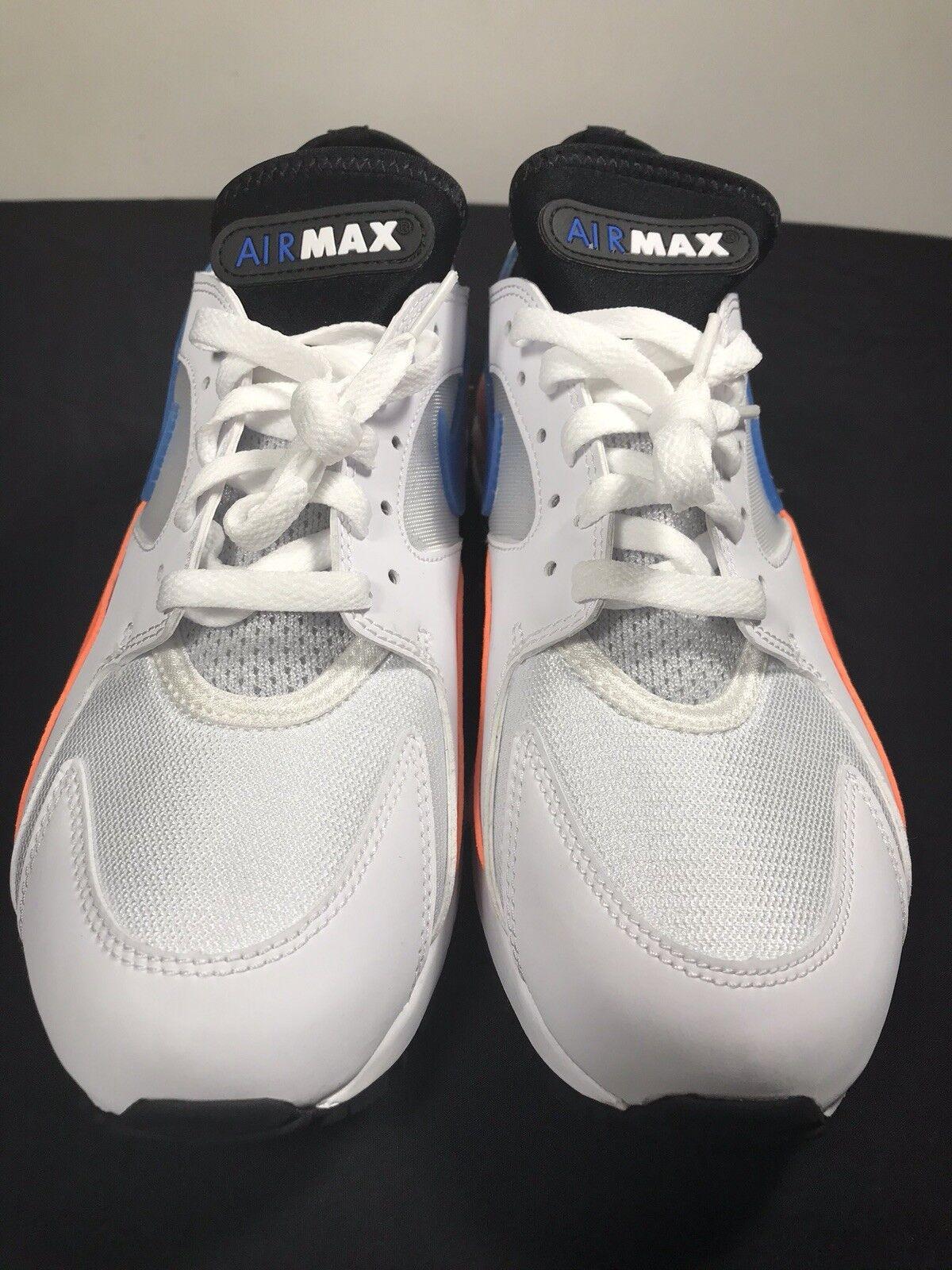 on sale 5420f 62a36 Nike air max max max 93 wihte   bluenebula   totale arancione 306551-104 sz