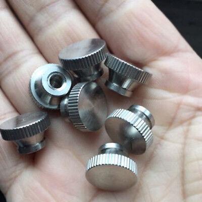 Size : M10 N//A 5Pcs carbon steel karmic thumb nut thread metal nut screw tool metal round set anti-slip M3 M4 M5 M6 M8 M10