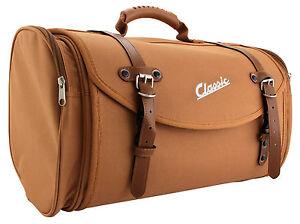 Tasche-Case-Gepaeckrolle-Koffer-Universal-Braun-Classic-35L-Retro-Style-Roller