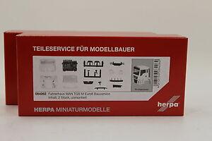 Herpa-084062-Fahrerhaus-MAN-TGS-M-Euro-6-Bauversion-H0-1-87-Neu-in-OVP