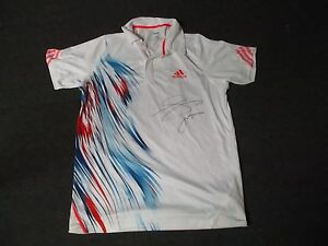 2012-US-Open-Men-039-s-First-Round-Jo-Wilfried-Tsonga-Match-Used-Worn-Adidas-Shirt
