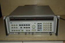 Hp Hewlett Packard 8341a Synthesized Sweeper 01 20ghz Bg1
