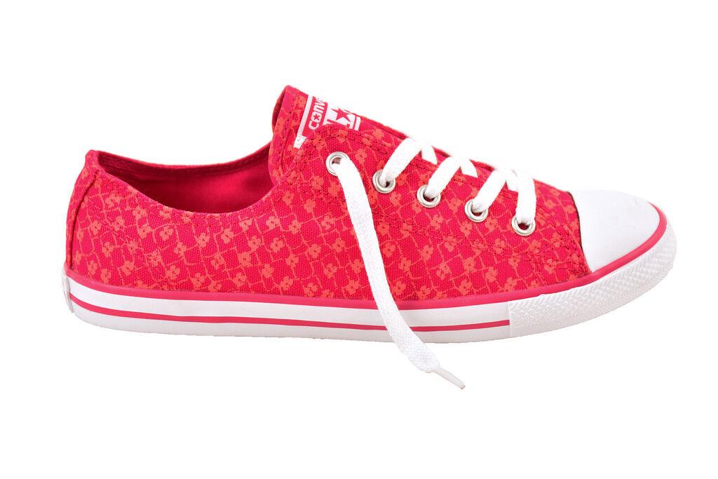 Converse Mujer All Star CT Buey Delicado Rojo Zapatillas Zapatillas Zapatillas Talla UK 4   BCF811  barato