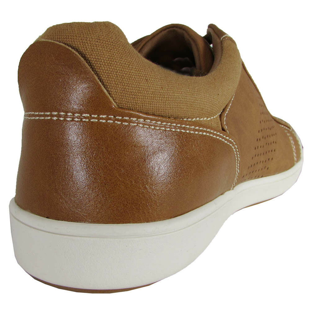 Steve Madden Sneaker Mens Fisk Lace up Fashion Sneaker Madden Shoes Tan 13M 5902f0