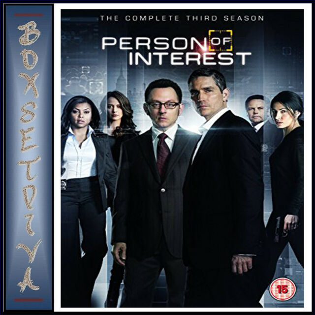PERSON OF INTEREST - COMPLETE SEASON 3   *BRAND NEW DVD*