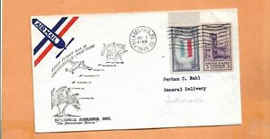 Primer Vuelo Am 31 Philadelphia Pa A Jacksonville Fla Julio 1,1945