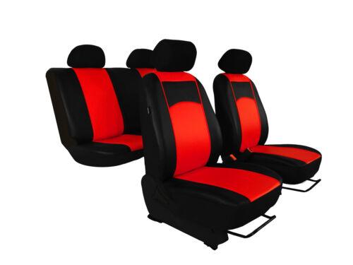paßgenaue Sitzbezüge Pour Ford Kuga II à partir de 2012 de haute qualité Cuir Synthétique 7 couleurs.