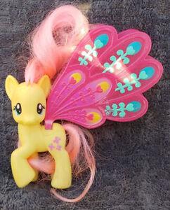 "My Little Pony ""Fluttershy"" Glimmer Wings G4 Brushable Pegasus MLP FiM Magic"