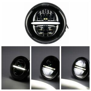 883 Low LED Scheinwerfer 5 3//4 CR für Harley Sportster 1200 Roadster//T Superlow