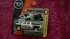 Matchbox (UK Card) - 2016 - #59 '14 Chevy Silverado 1500 - Metallic White