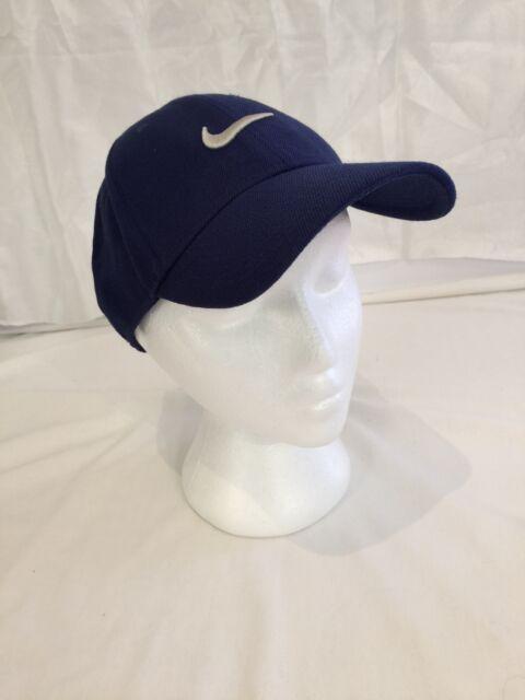NIKE SWOOSH baseball cap hat MENS BLUE One Size S1ZE Legacy91 Wool Acrylic  golf e2822241f3c