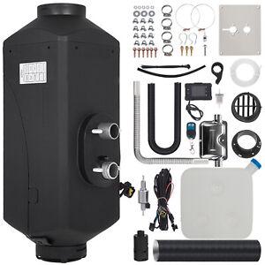 Calentador de aire Diesel Air Heater 5KW 24V LCD Silenciador Control Remoto