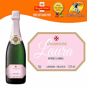 PERSONALISED-PINK-CHAMPAGNE-BOTTLE-LABEL-BIRTHDAY-ANY-OCCASION-GIFT