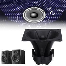 Black Piezo Horn Speaker Tweeter Sound Audio 85mm x 85mm x 70mm