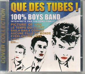 CD-COMPIL-14-TITRES-THE-SONG-FAMILY-100-BOYS-BAND-1997