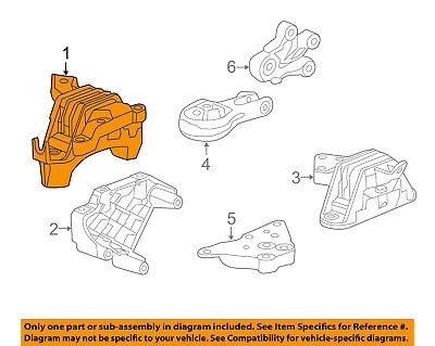 GM OEM-Engine Motor Mount Torque Strut 15829220