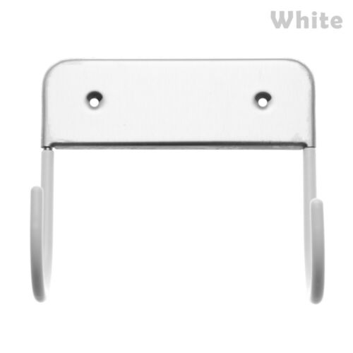 Iron Rest Stand Wall Mount Ironing Board Hook Holder Dryer Storage Space Saving~