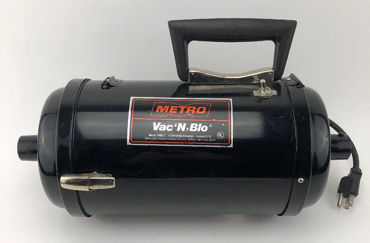 Metrovac VNB-83BA Vac N/' Blo Handheld Bagless Vacuum Cleaner