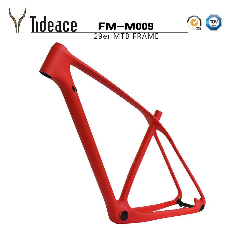 T800 Carbon Fiber Mountain Bike images 29er cycle bicycle jeu de cadres MTB OEM